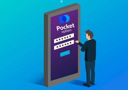 نحوه افتتاح حساب تجاری در Pocket Option