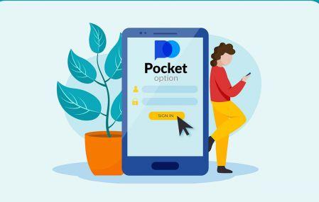 نحوه ثبت نام و ورود به حساب در معاملات دلال Pocket Option
